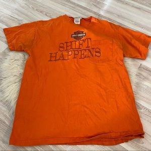 Harley shift happens shirt